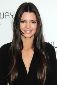 Kendall Jenner at Rent the Runway Pop-Up Shop