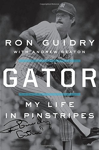 """Ron Guidry """"Gator: My Life In Pinstripes"""" Book Signing in NJ"""