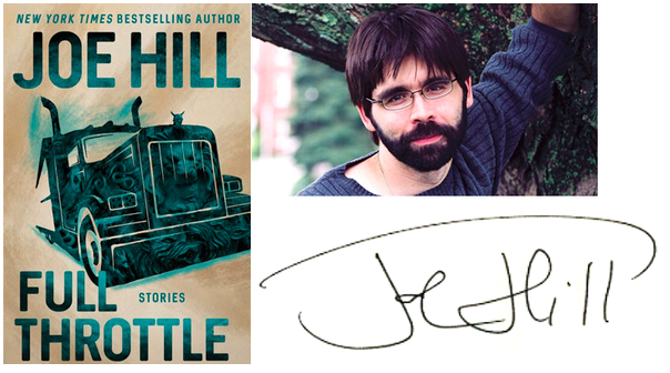 Joe Hill Book signing event, FULL THROTTLE to be released